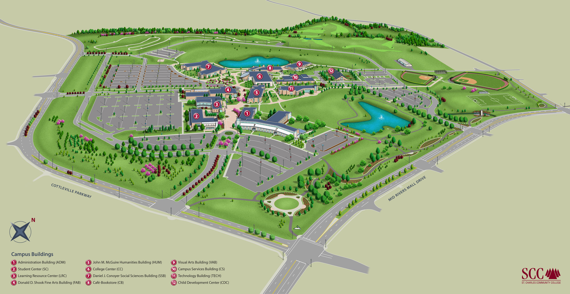 College Of New Jersey Campus Map.Campus Map