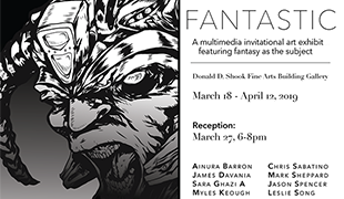 Image of Fantastic art exhibit and reception opens March 18