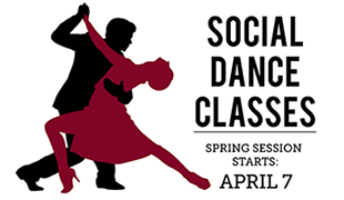 Image of Spring social dance classes at SCC April 7
